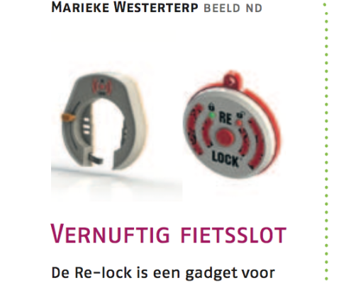 Nederlands Dagblad met Re-Lock